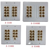 A-1144 / A-1144AU / A-1144A / A-1144B : Dolby Digital 7.1 Home Theater Wall Plate